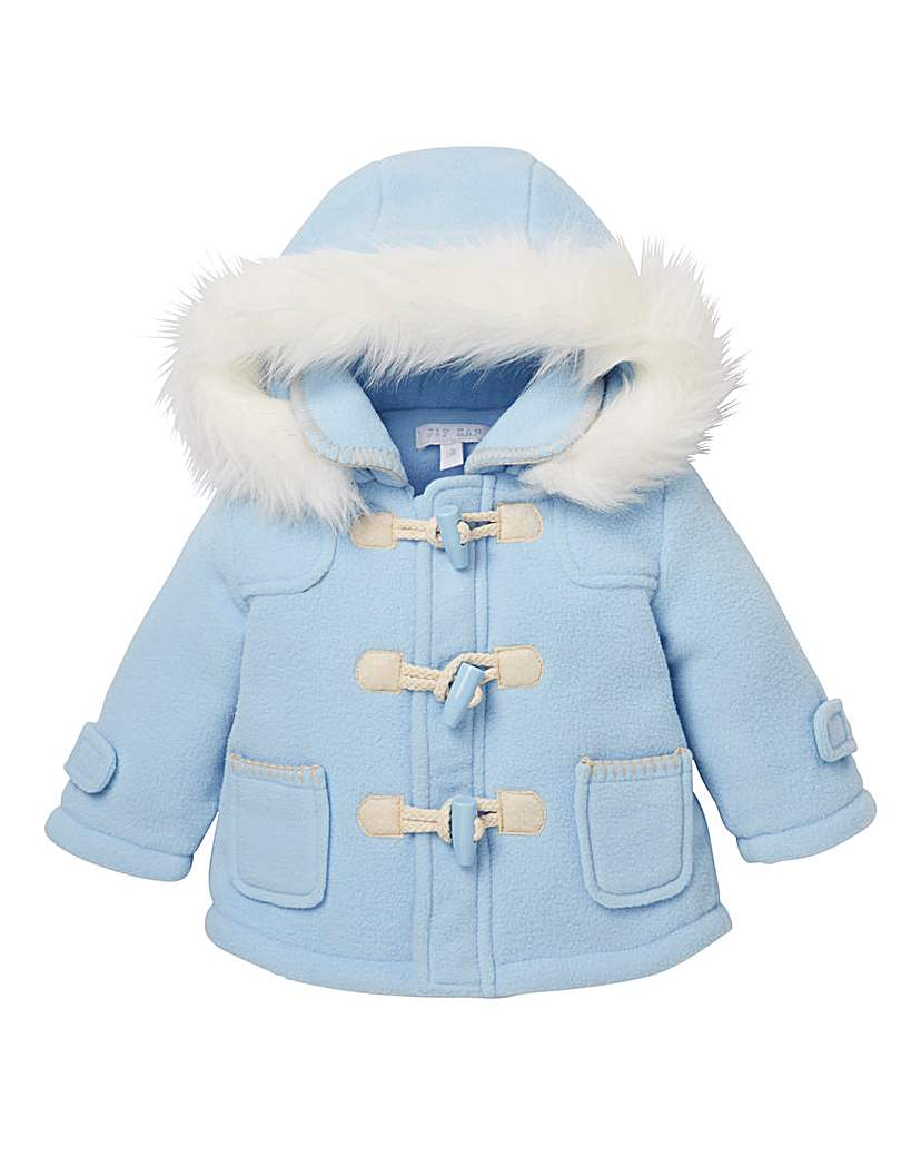 Image of KD Baby Blue Duffle Coat