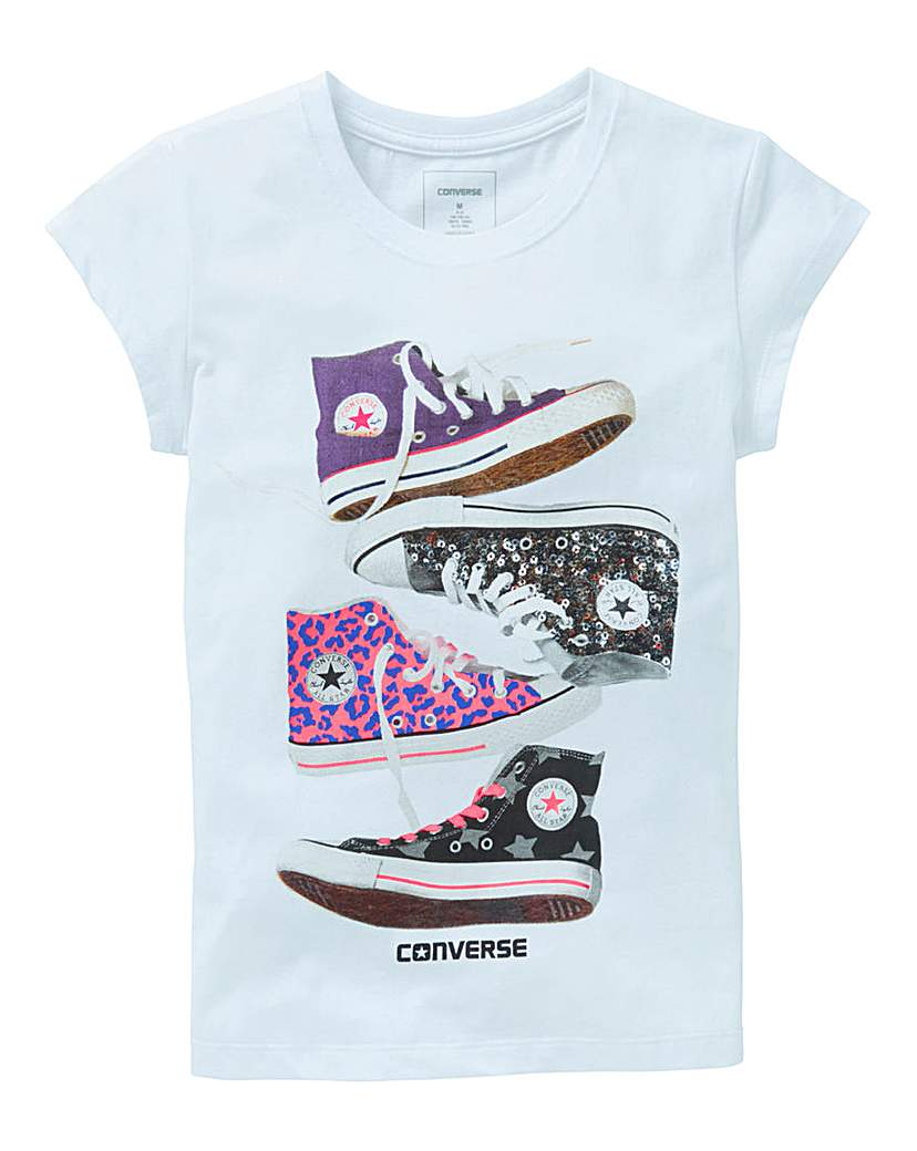 Converse Girls Stacked Chucks T-Shirt
