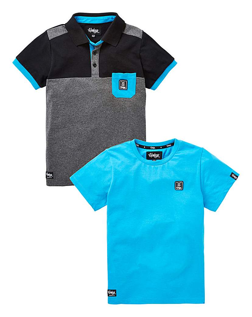 Image of Henleys Boys Tee And Polos Pack