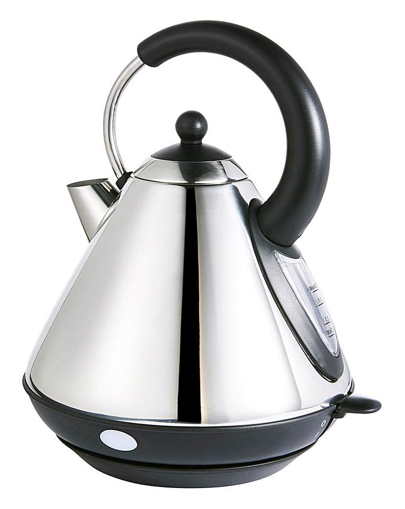 JDW Pyramid Stainless Steel Kettle