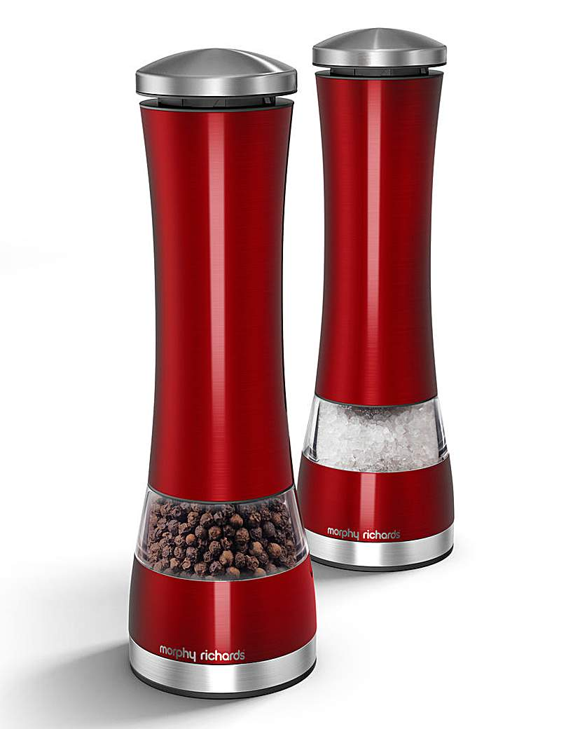 Image of Electronic Salt and Pepper Mill Set
