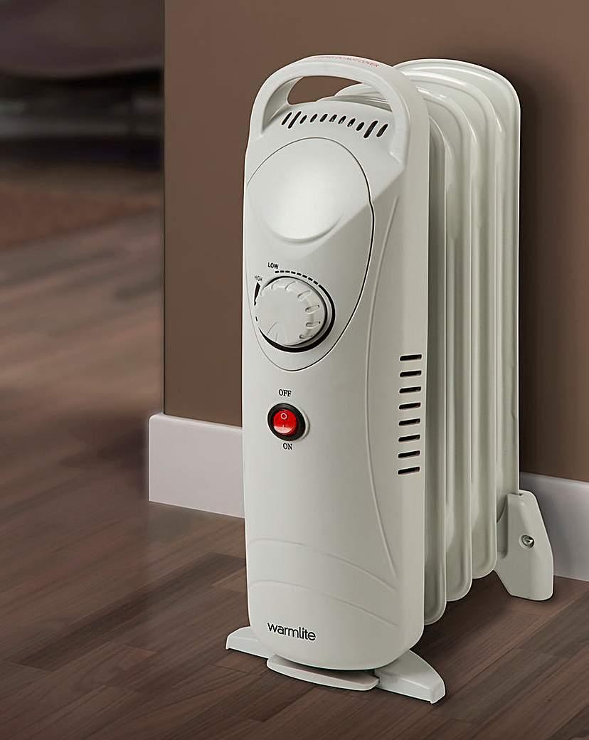 Warmlite 600W Mini Oil-Filled Radiator