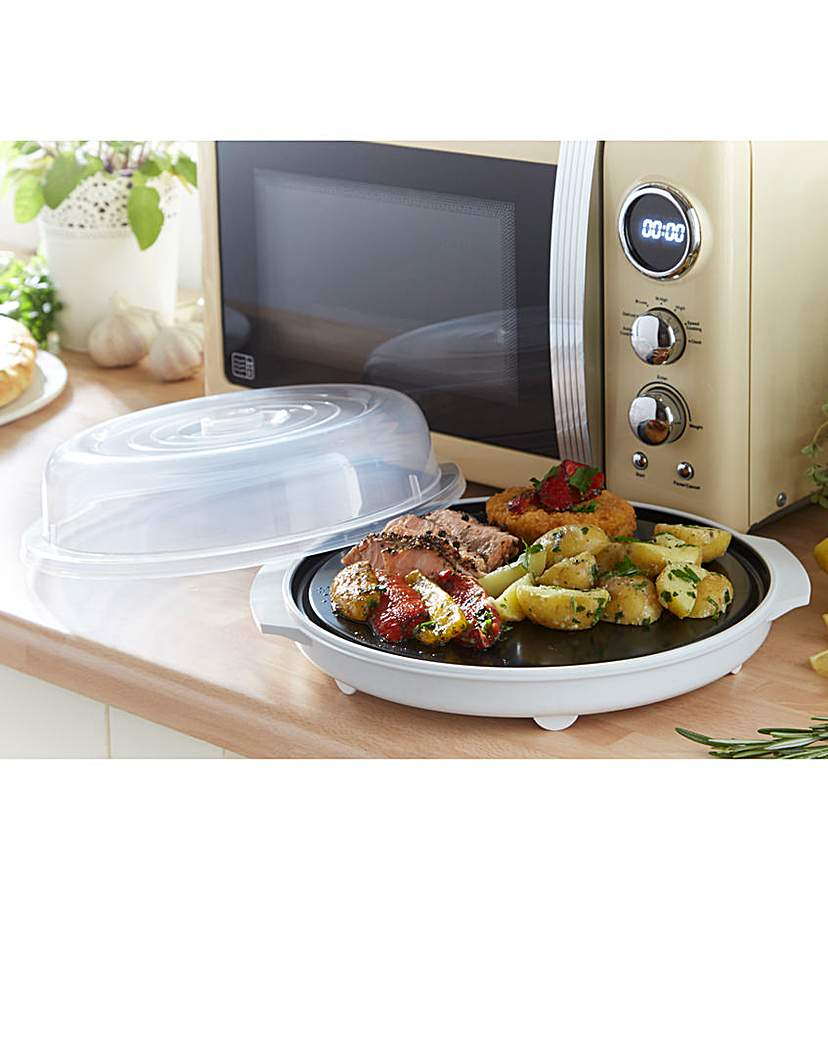 Microwave Fat Free Frying Plate