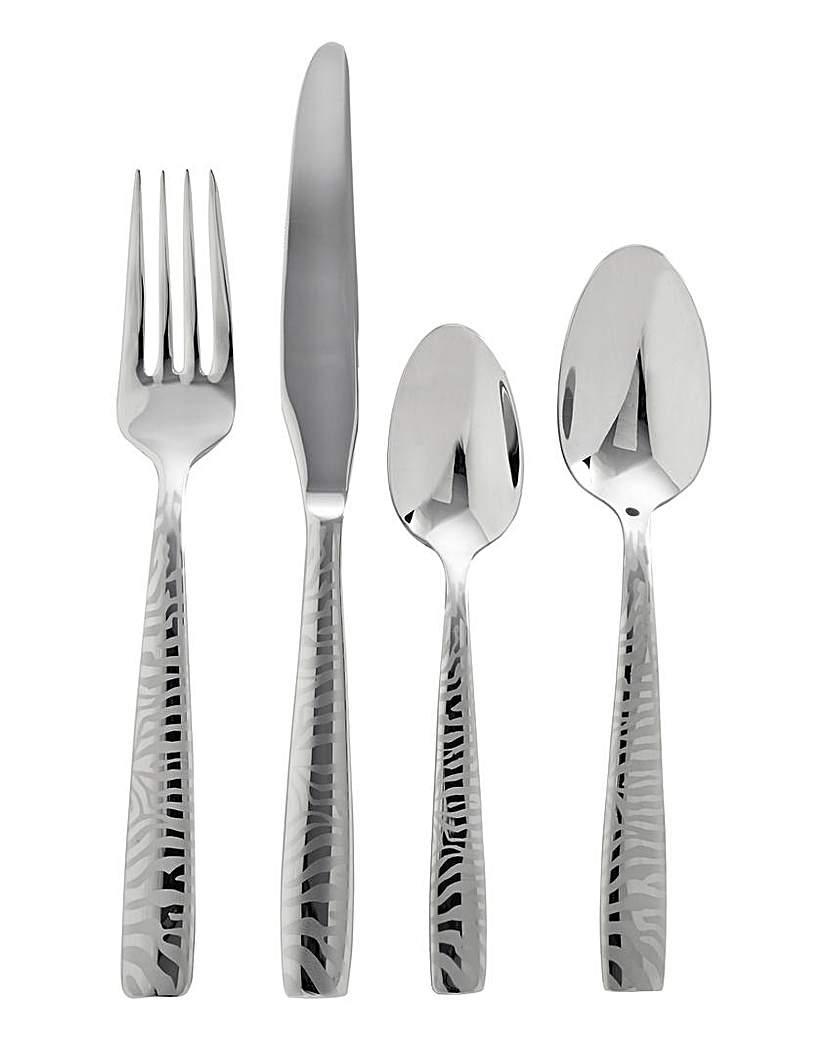 Viners Zebra 16 Piece Cutlery Set