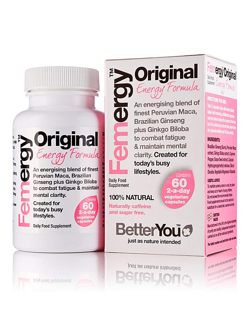 Image of Better You Femergy 60 Capsules