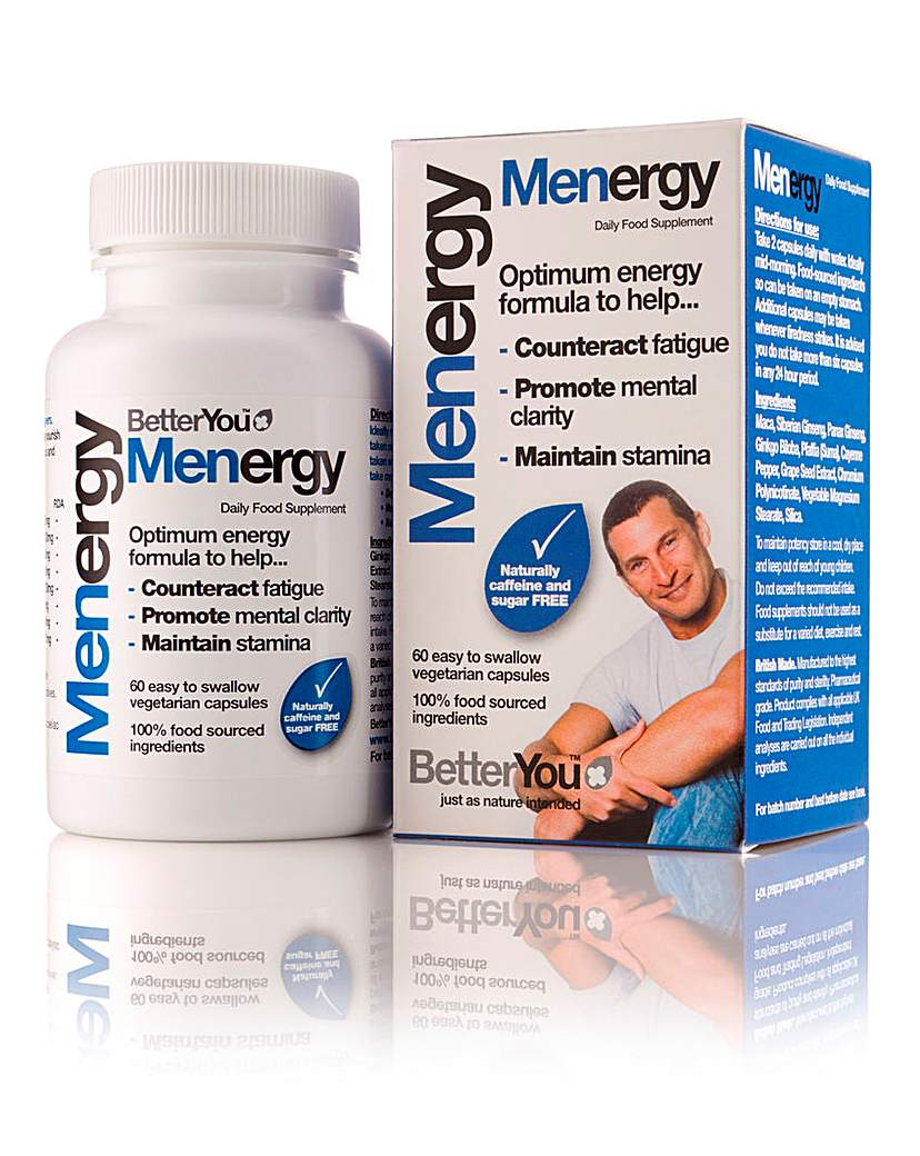 Image of Better You Menergy 60 Veg Capsules