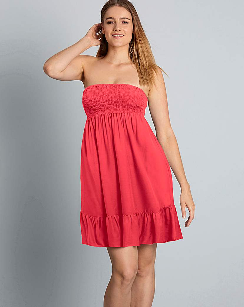 Image of Simply Yours Bandeau Beach Dress