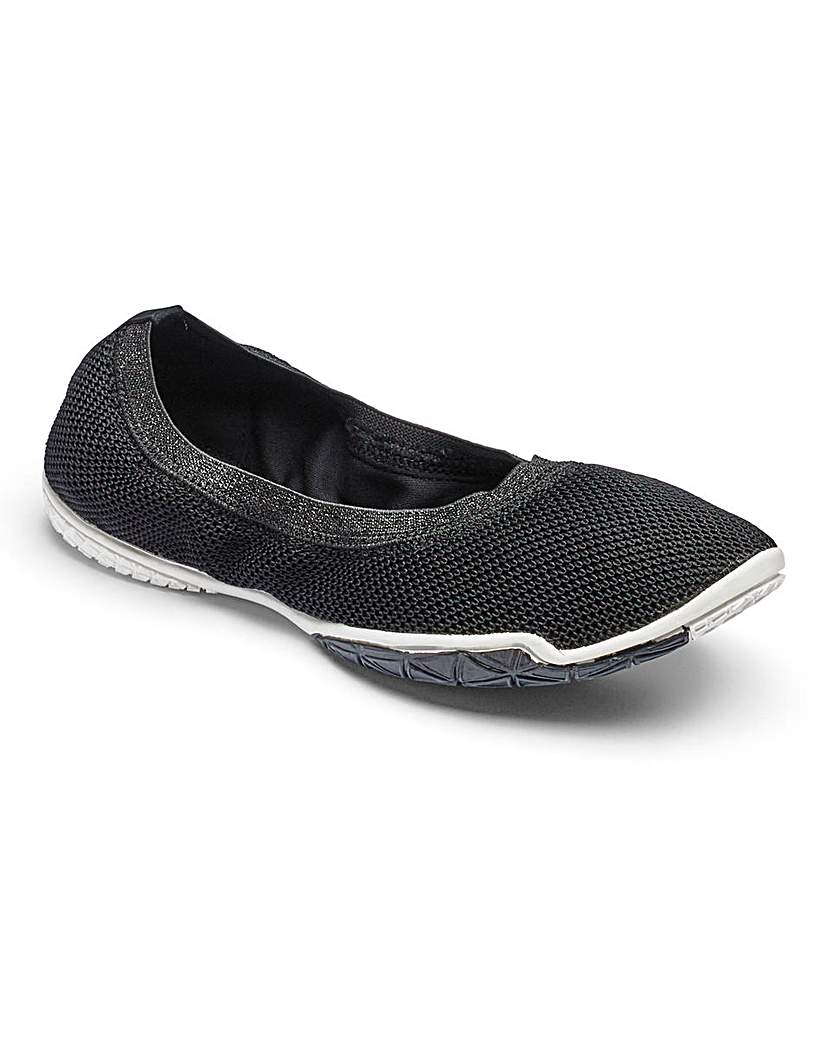 Image of Be Active Slip On Yoga Shoes E Fit