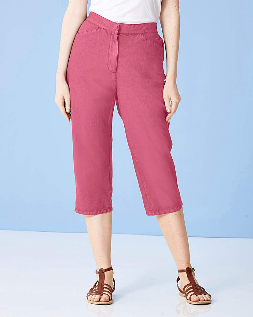Value Cotton Crop Trouser.