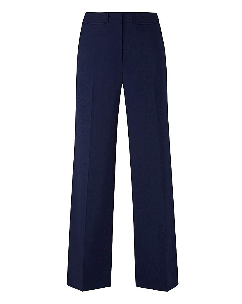 Tailored Wide Leg Trousers Long.