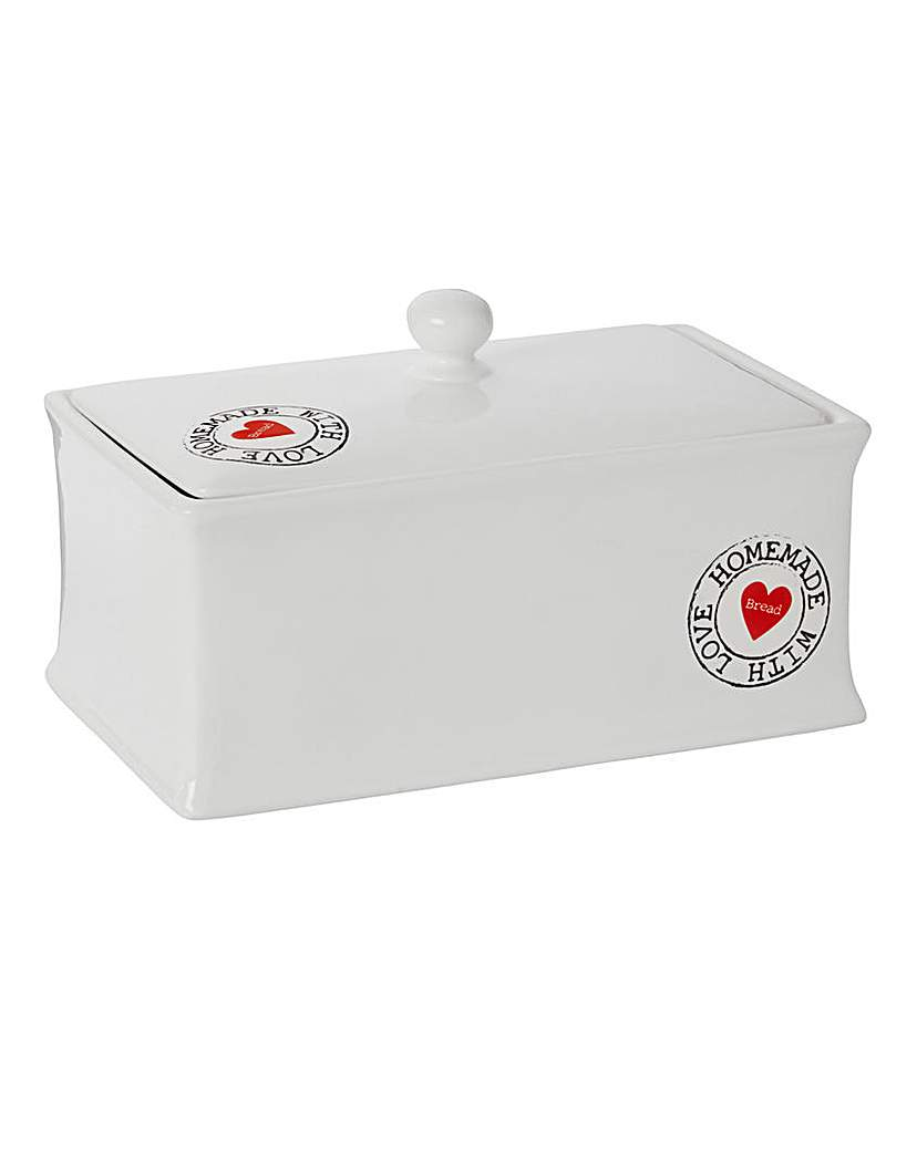 Image of Homemade with Love Bread Bin
