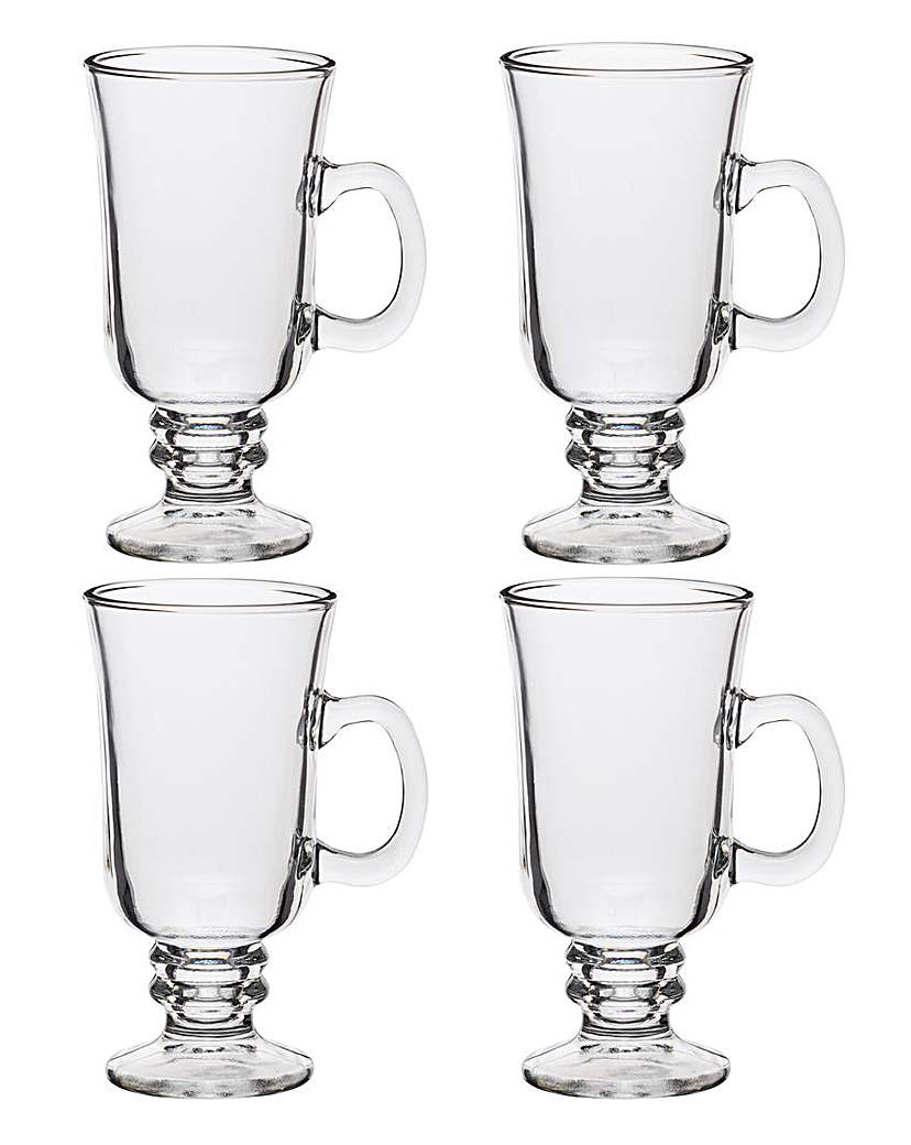 Image of Le'Xpress Set of 4 Irish Coffee Glass