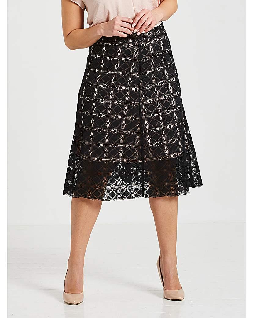 Image of Celuu Alison Lace Skirt