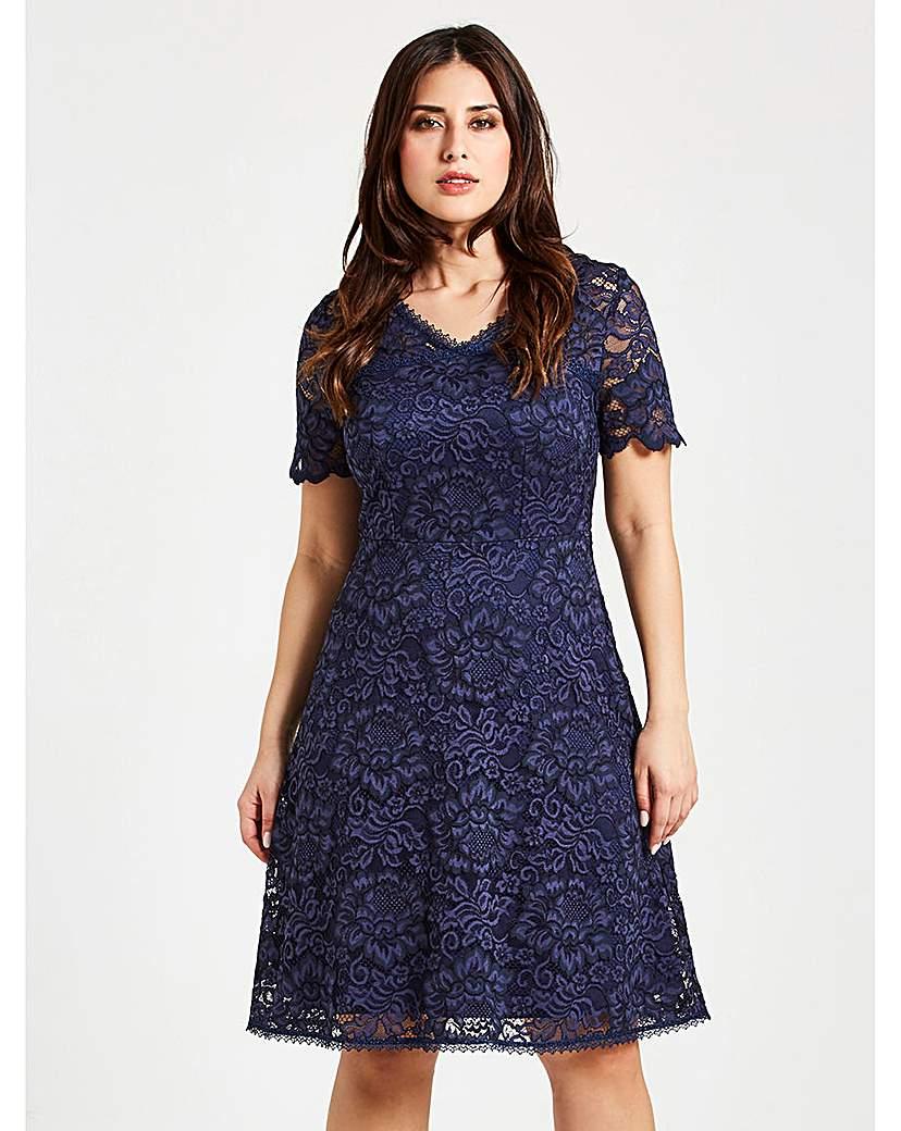 Image of Celuu Natasha Lace Dress