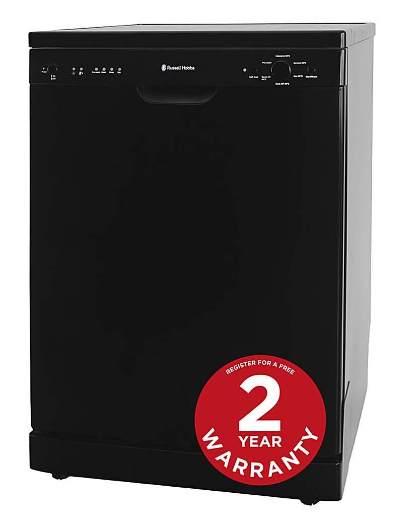 Russell Hobbs RHDW2B 60cm Dishwasher Blk