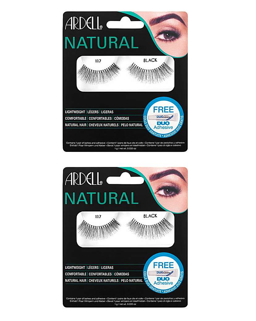 Image of Ardell Fashion Lashes 117 Blk/ 117 Blk
