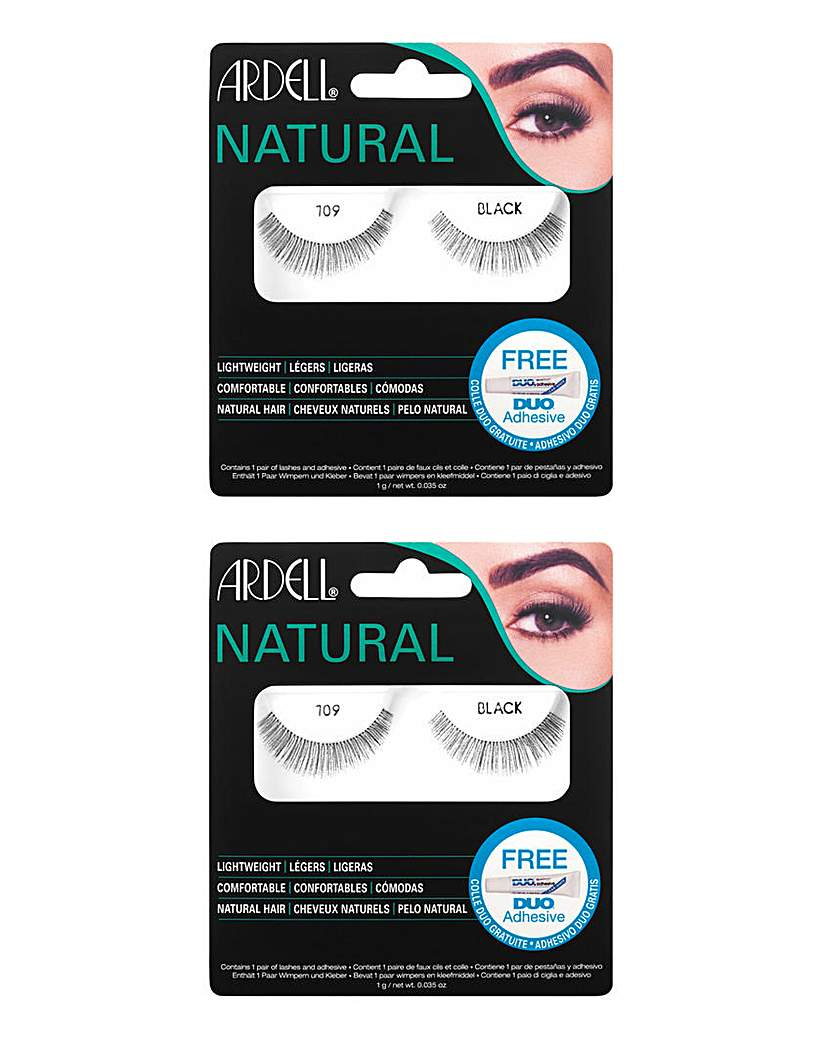 Image of Ardell Fashion Lashes 109 Blk/ 109 Blk