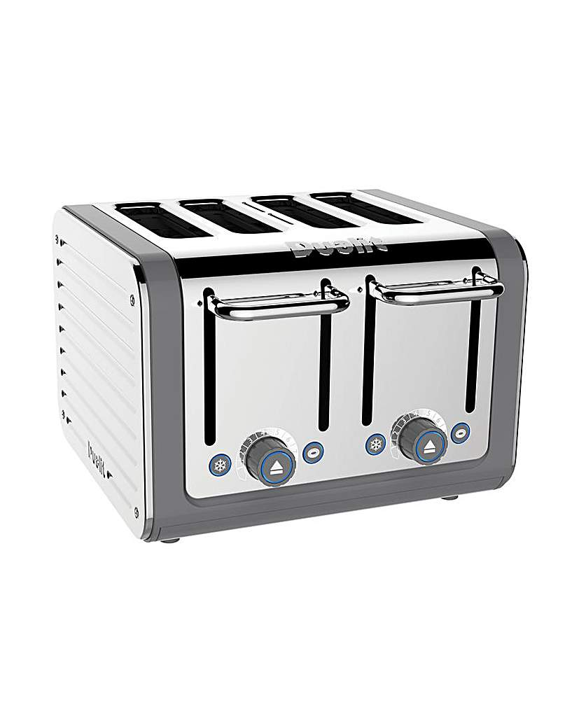 Dualit Architect Grey 4 Slot Toaster