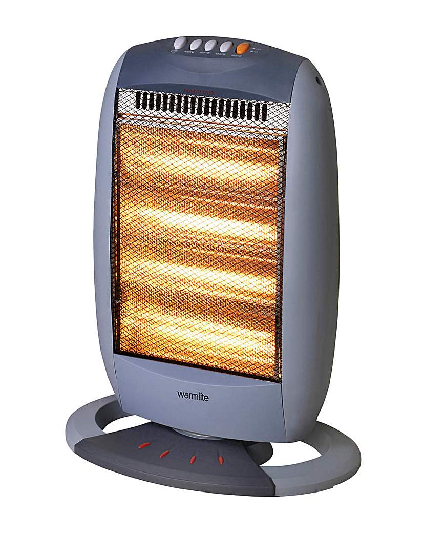 Warmlite 1600W 4 Bar Halogen Heater