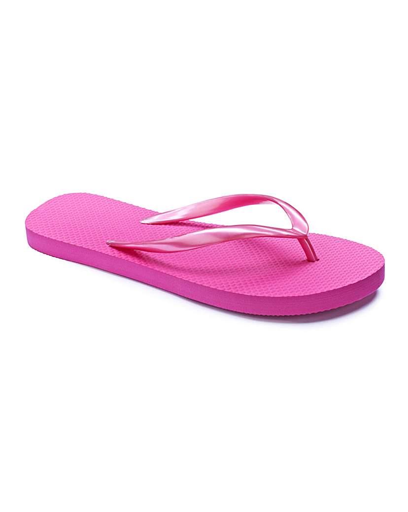 The Shoe Tailor Flip Flops E Fit