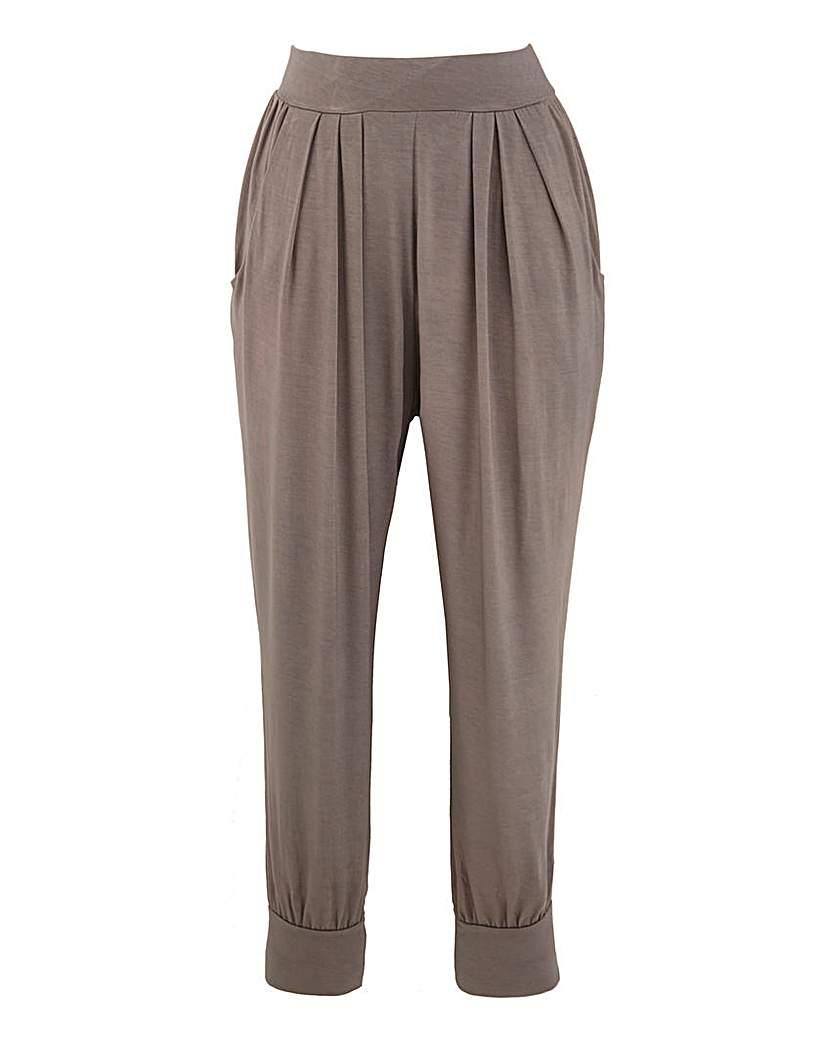 Crop Jersey Lounge Pants