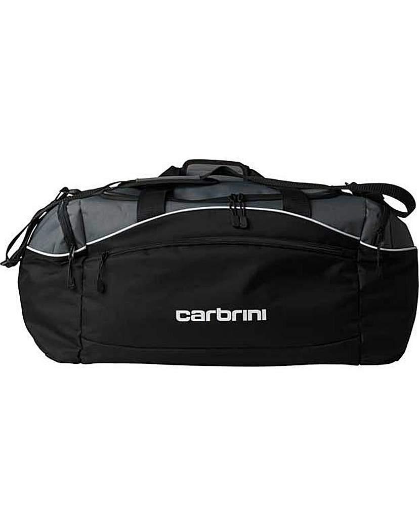 Image of Carbrini Medium Holdall - Black.