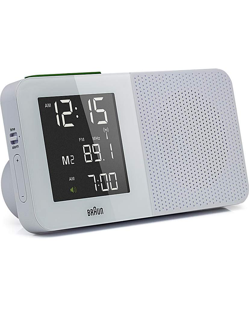 Image of Braun Radio Alarm Clock