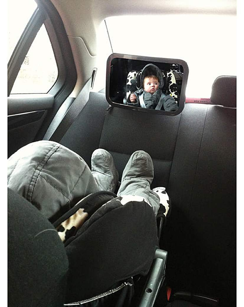 Image of Super View Baby Safety Mirror