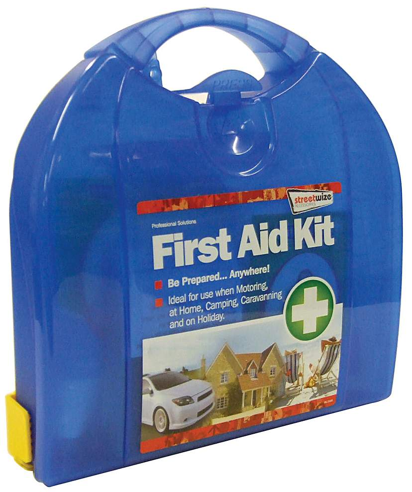 Image of Streetwize First Aid Kit Deluxe