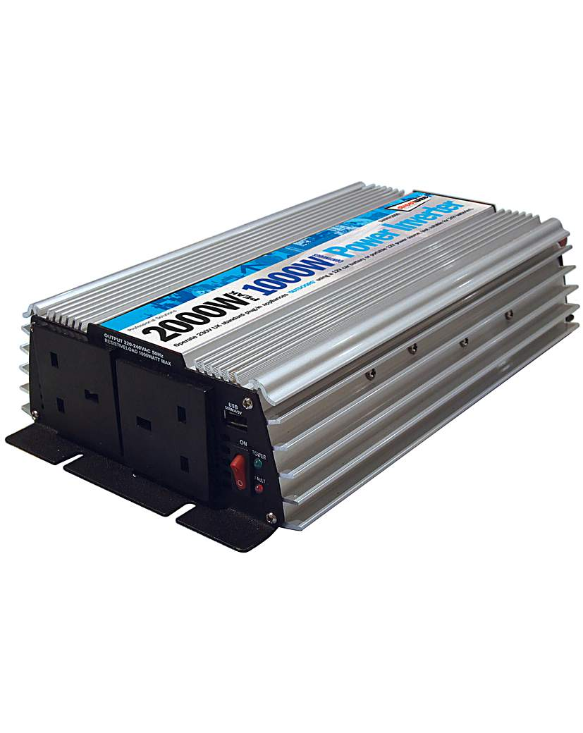 Image of 1000 watt /2000 watt peak Inverter