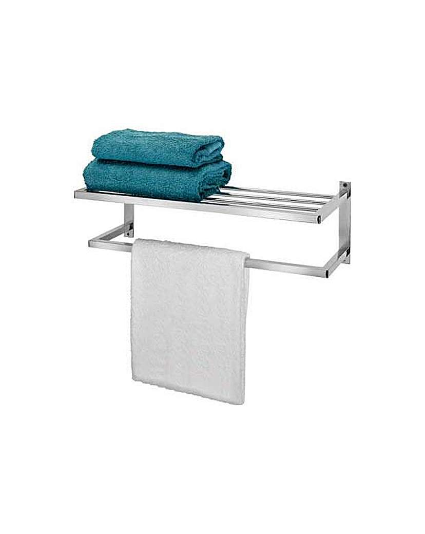 towel rail shelf shop for cheap products and save online. Black Bedroom Furniture Sets. Home Design Ideas