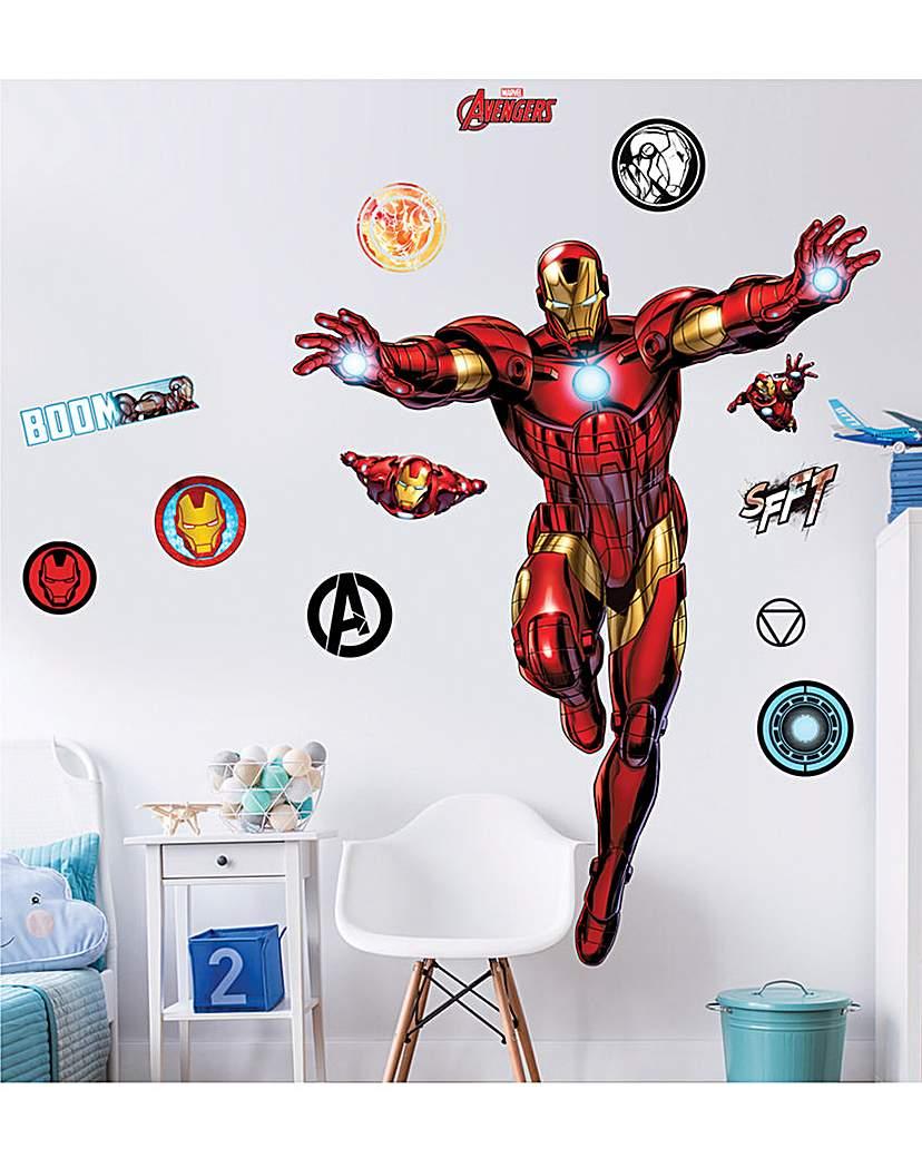 Image of Marvel Iron Man Large Character Sticker