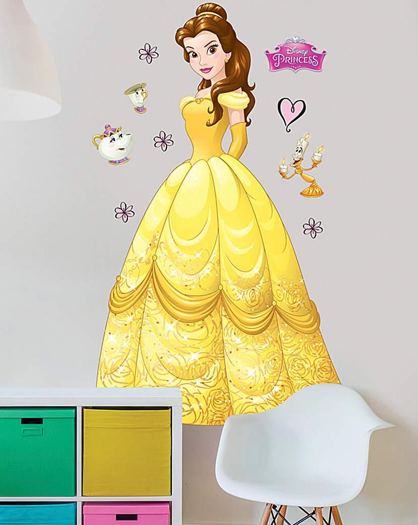 Image of Disney Princess Belle Large Sticker