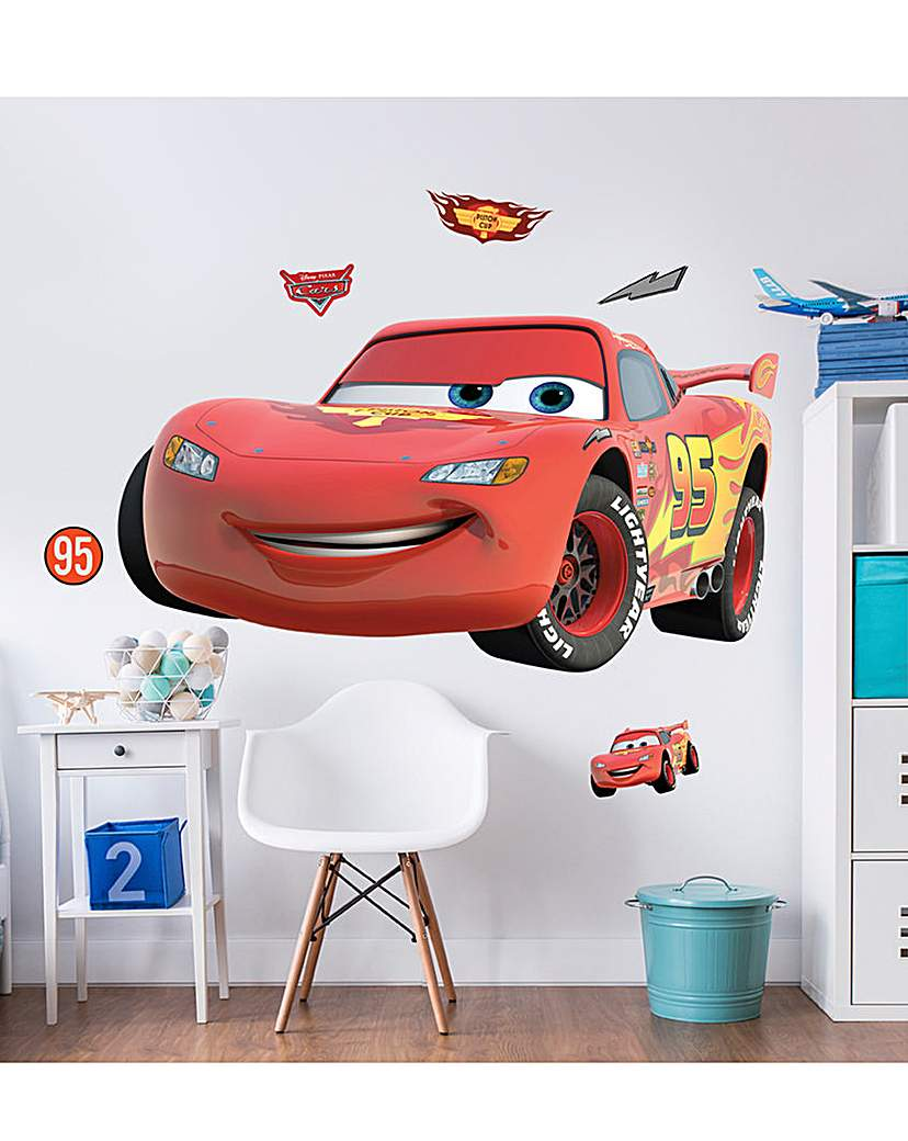 Image of Disney Cars Large Character Room Sticker