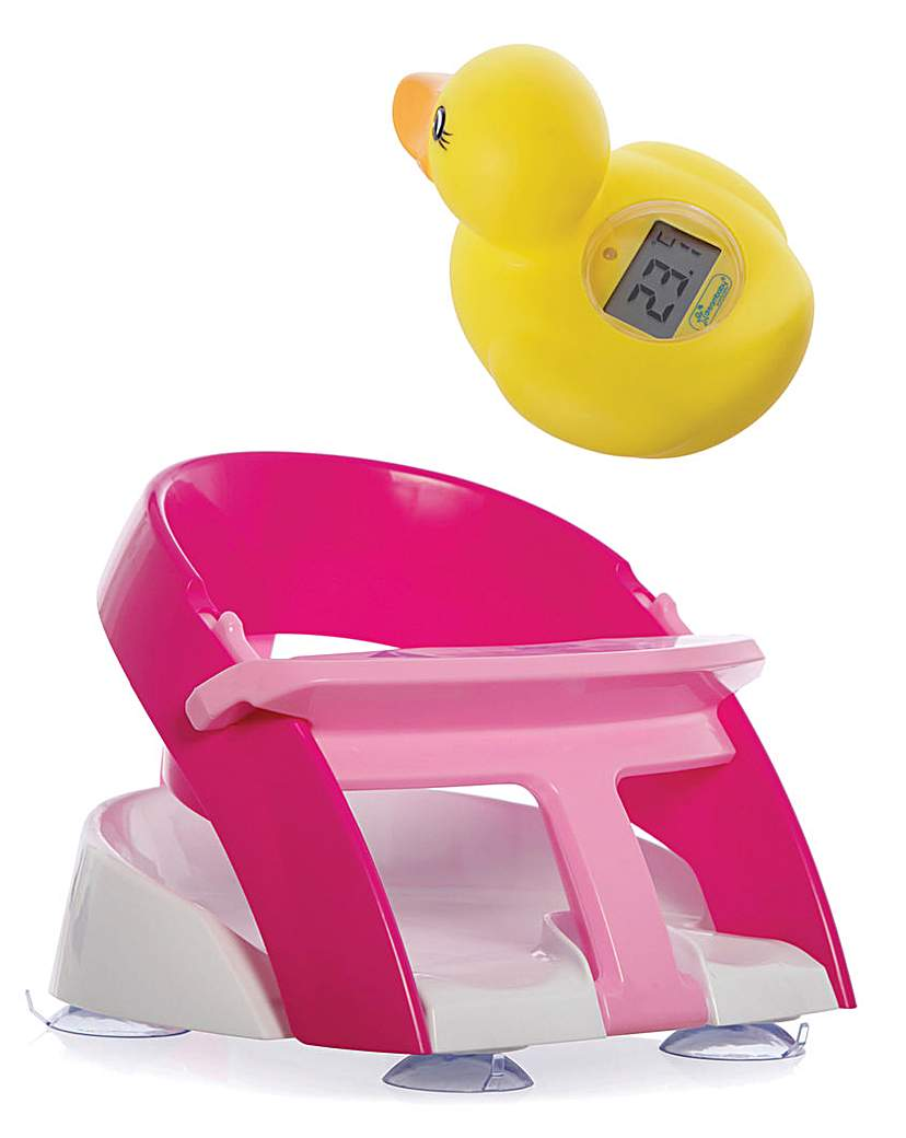 Image of Dreambaby Bath Seat And Duck Thermometer