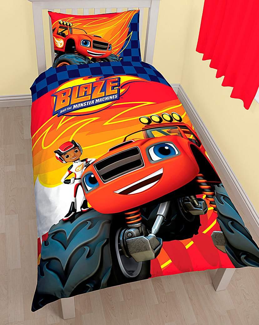 Image of Blaze Panel Duvet