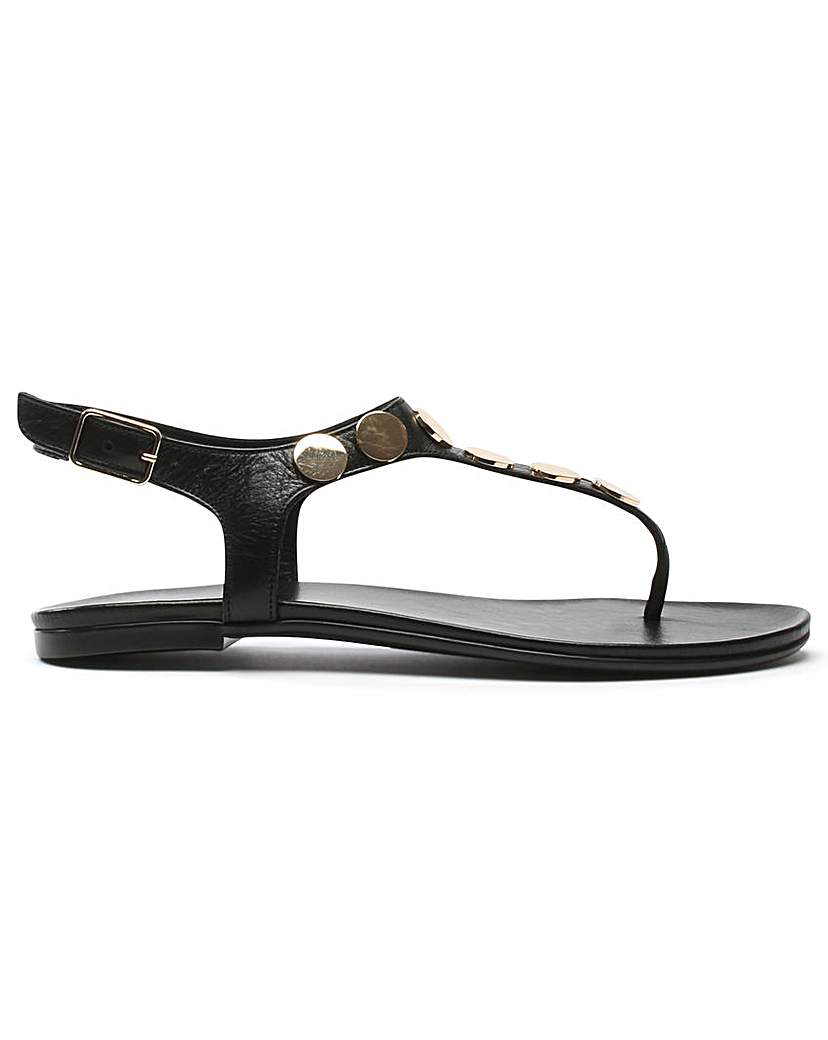 Image of Daniel Studworks T Bar Toe Post Sandal
