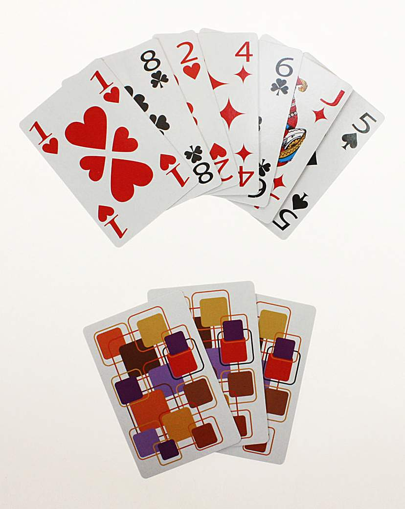 Image of Giant Print Playing Cards