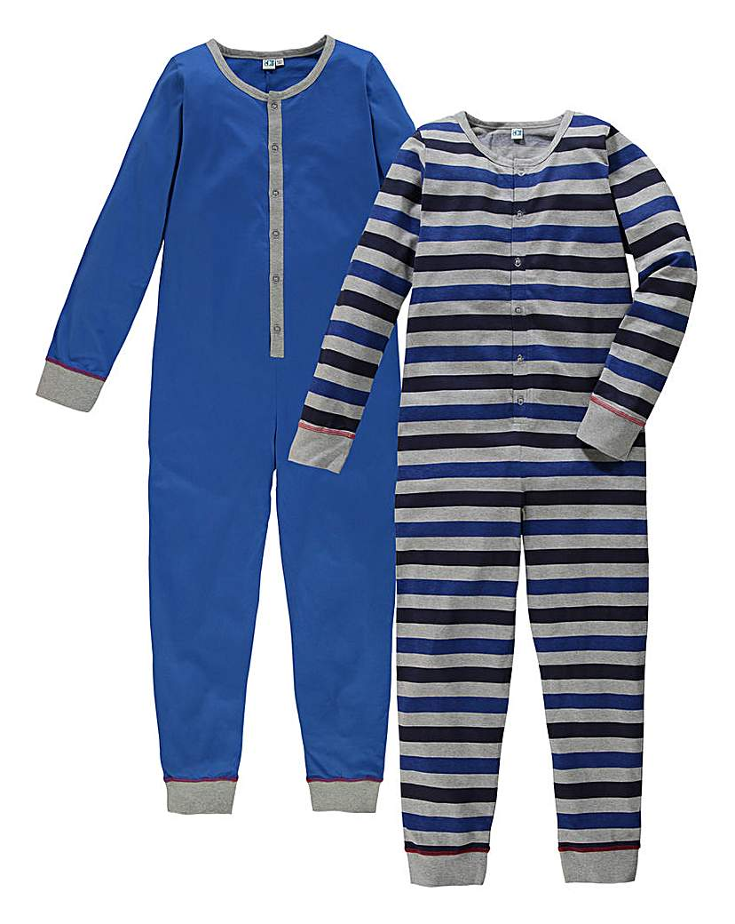 Image of KD Edge Boys Pack of Two Onesies