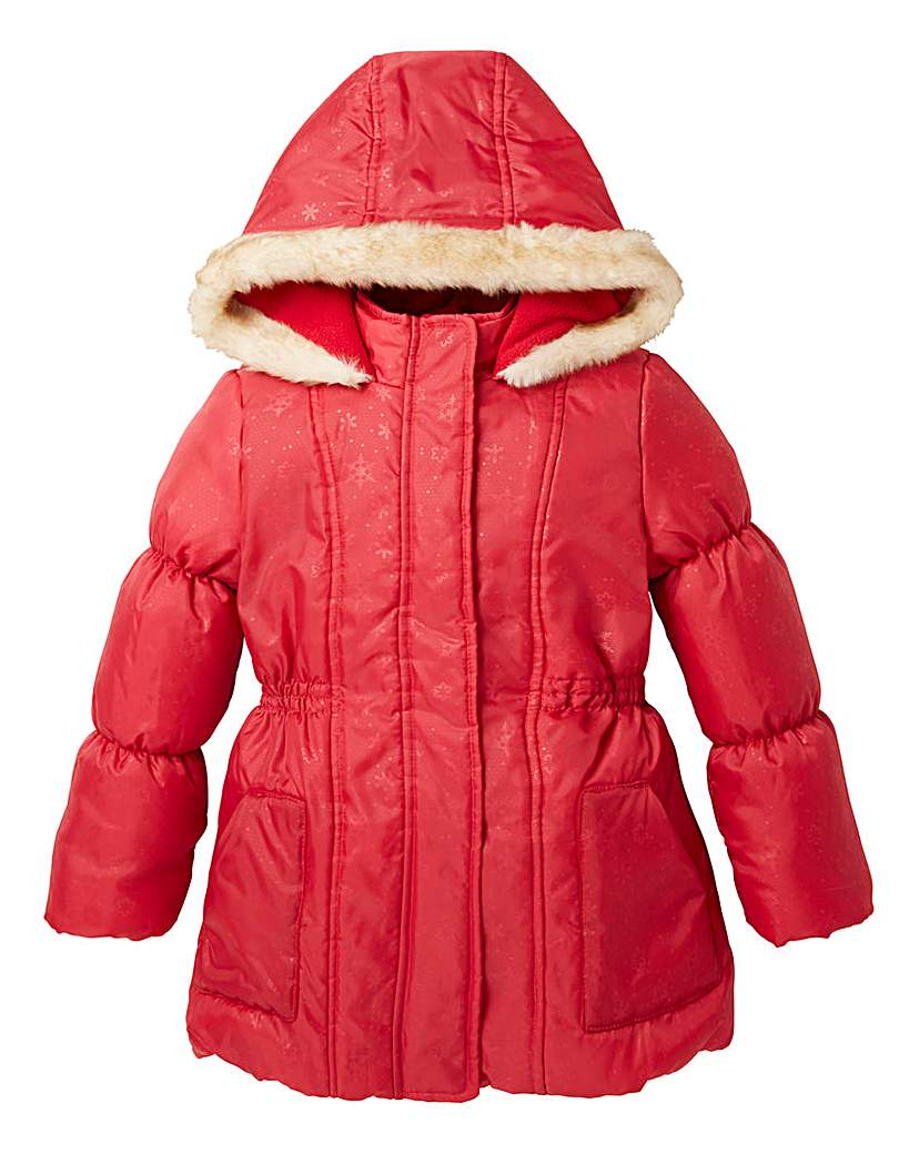 KD Girls Red Coat