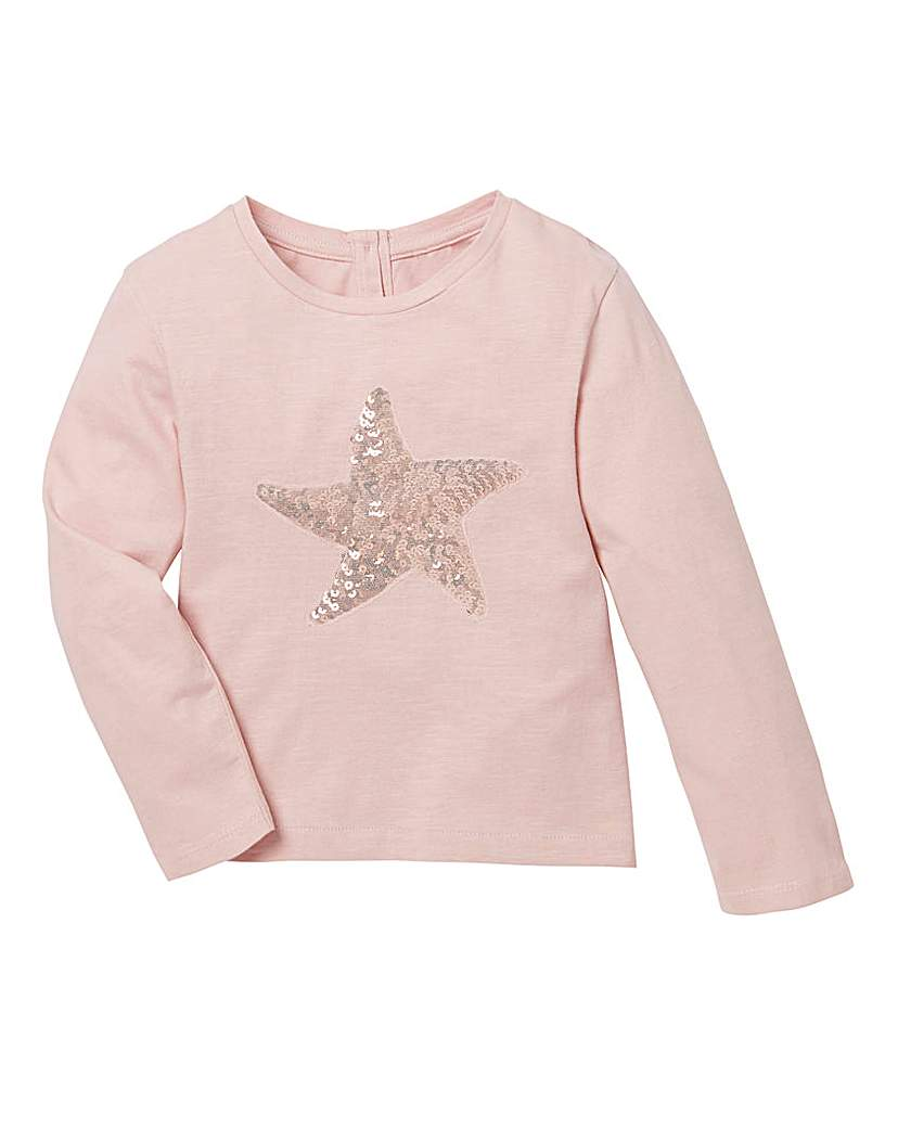 KD Baby Sequin Star T Shirt