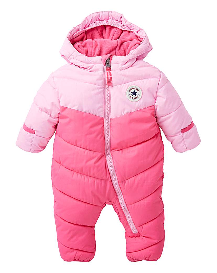 Converse Baby Girl Snow Suit.