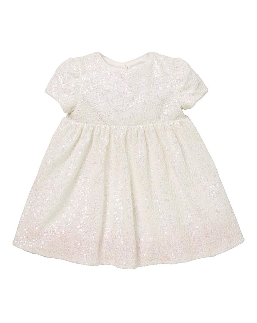 Image of KD Baby Sequin Velour Dress