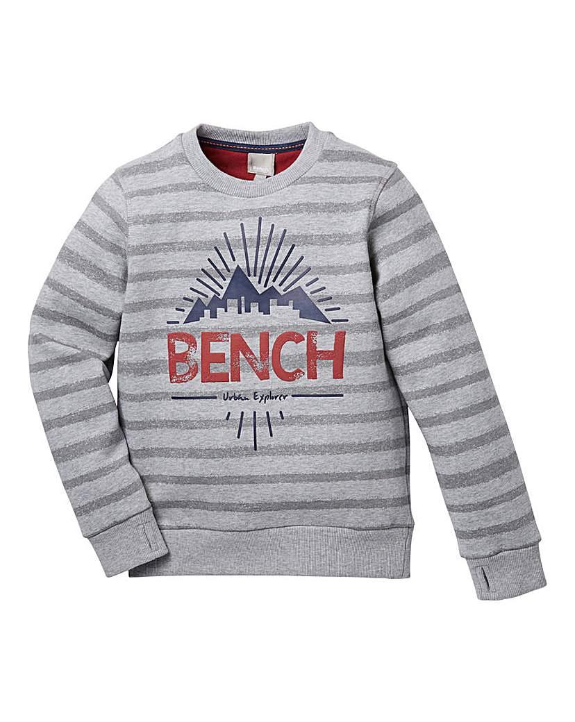 Image of Bench Boys Crew-Neck Sweatshirt