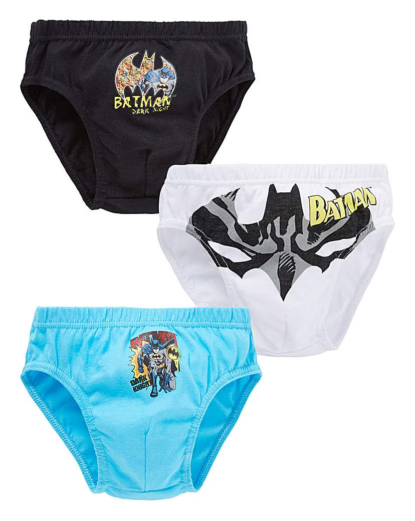 Batman Boys Pack of Three Briefs