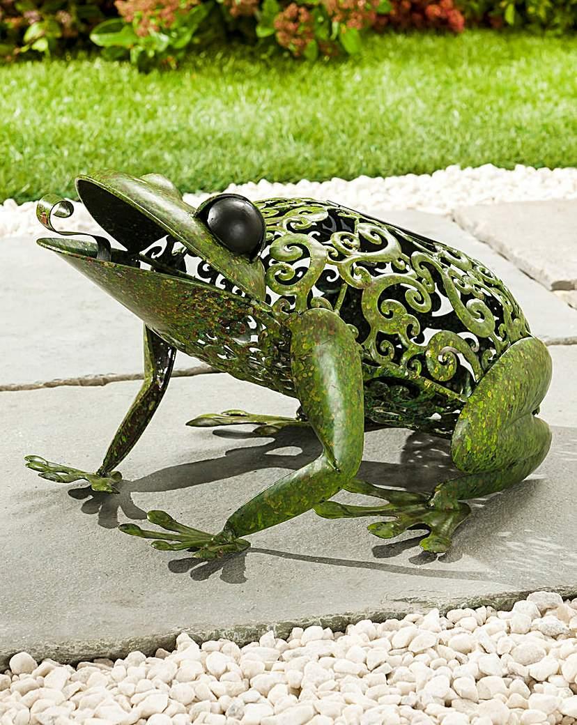 Image of Metal Silhouette Frog Light