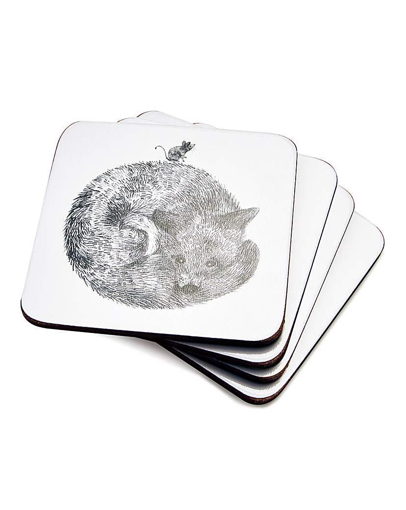 Image of Pimpernel Let's Go Wild! Set 4 Coasters