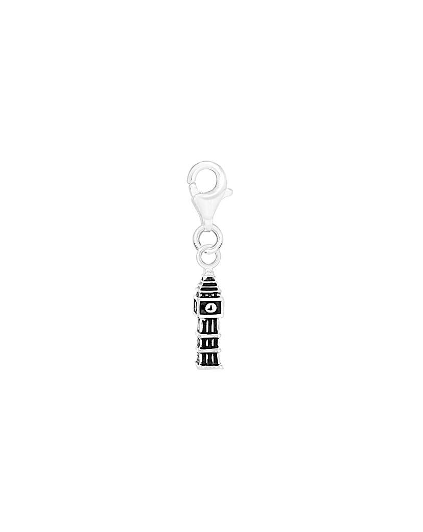 Image of Sterling Silver Big Ben Charm