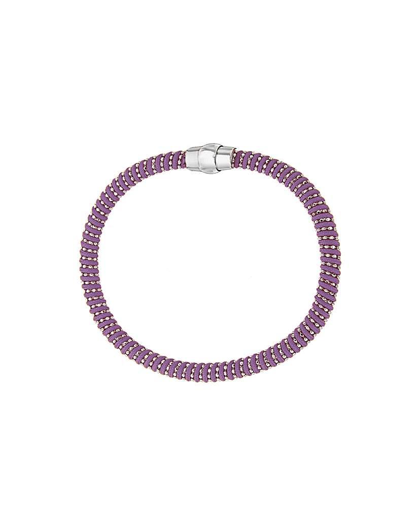 Image of Sterling Silver Cord Bracelet