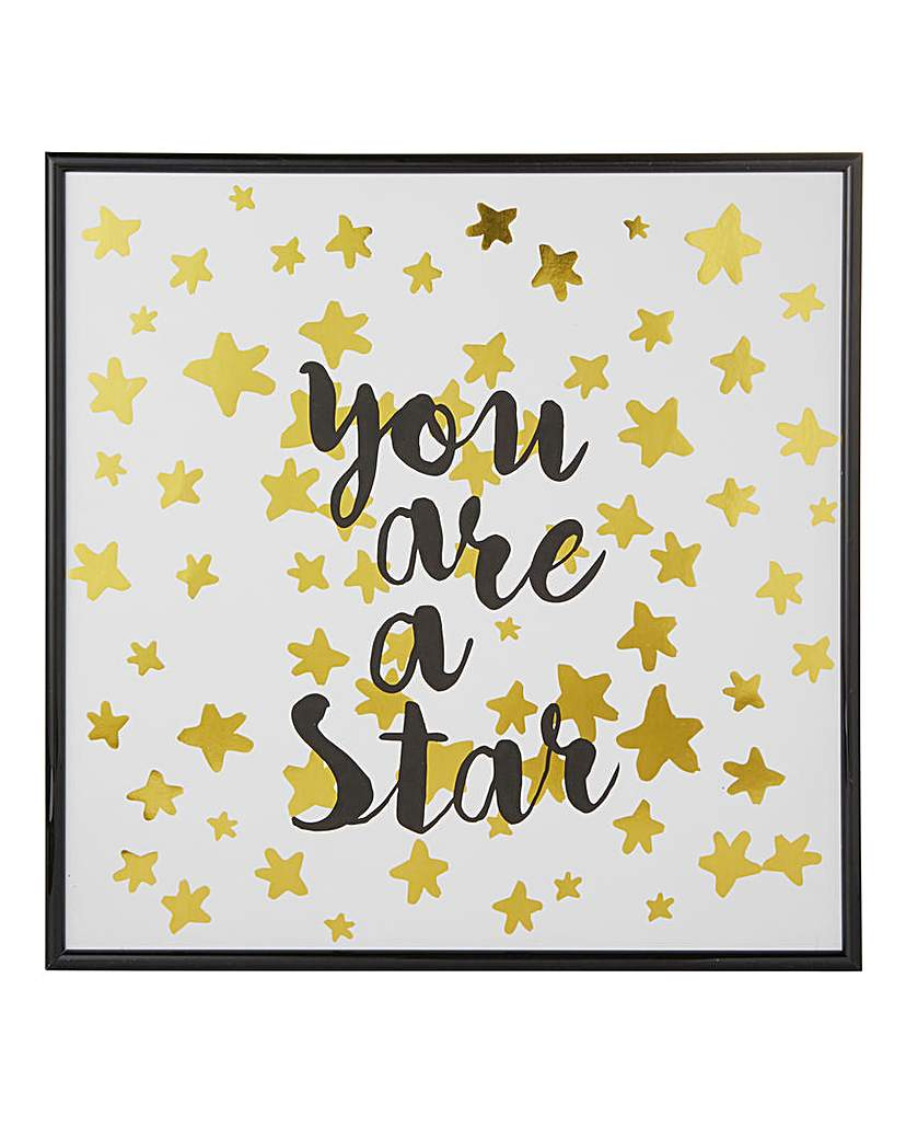 You are a Star Wall Art